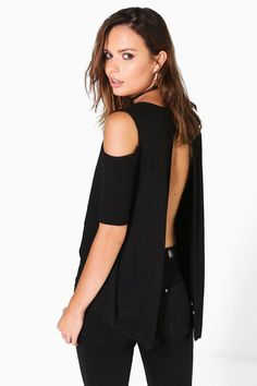 f28558b4b9c Buy Black Boohoo Top off shoulder for woman at best price. Compare Tops  prices from online stores like Boohoo - Wossel United States