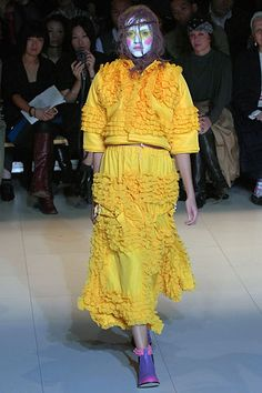Sfilata Comme des Garçons Parigi - Collezioni Primavera Estate 2008 - Vogue