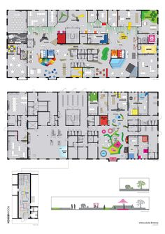 Floor plan / Rosan Bosch Studio