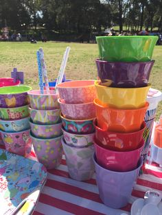 Colourful tumblers by Rice Dk. Available on www.Neapolitan.net.au