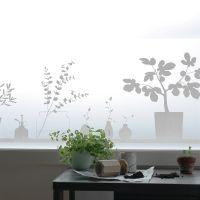 Stilleben fönsterfilm - 48x120 cm - Siluett Frost