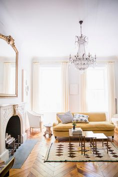 A soothing yet dramatically lovely room... we love. #spreadthelight #interiordesign