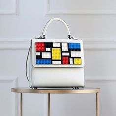 Sharp ▫️ Alex Mondrian Bag #lespetitsjoueurs #icon