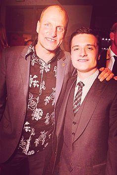 Harrelson and Hutcherson..