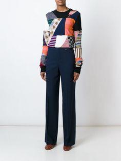 Лоскутный свитер CHLOE