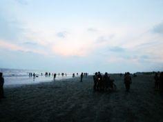 Beauty of #Bangladesh  Kuakata (Bengali: কুয়াকাটা) is a panaromic sea beach on the southernmost tip of Bangladesh.  Read Details: http://en.wikipedia.org/wiki/Kuakata