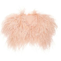 Elie Saab Ostrich Feather Sleeveless Shrug and other apparel, accessories and trends. Browse and shop 5 related looks.