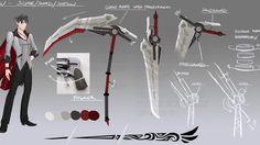 Qrow's scythe concept
