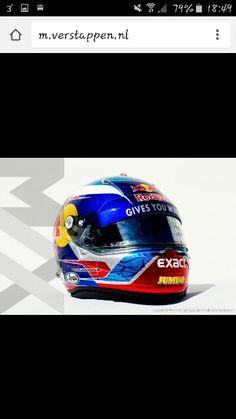 Max nieuwe helm