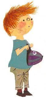 Download hoorspel van Annie M.G. Schmidt - Pluk van de Petteflet gratis Sweet Drawings, Super Images, Good Old Times, Fun Illustration, Vintage School, Stories For Kids, Funny Cards, Cartoon Kids, In Kindergarten