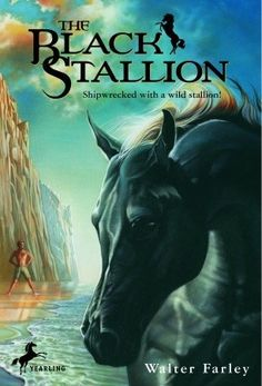 The Black Stallion (and the whole Black Stallion collection) by Walter Farley.  Although published in his twenties, this book was written when he was a teen.