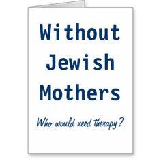 Jewish Mother Greeting Cards | Zazzle