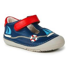Momo Baby Toddler T-Strap Leather Shoes - Sailor Navy (Size 4 - 6.5) Momo Baby. $25.00
