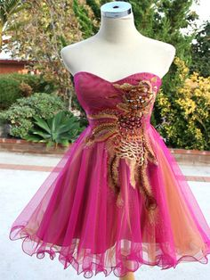 Pink Womens Formal Gown