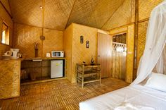 Bamboo Bungalows for rent