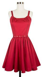 Trashy Diva Annette Mini Dress annette2-redstretch