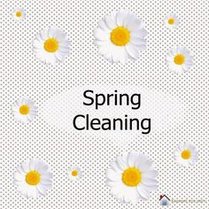 Spring Cleaning printable schedule in Greek!