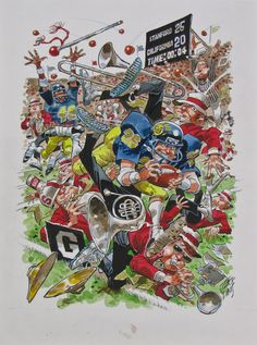 jack davis sports drawings - Google Search