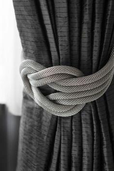 stilvolle-Gardinen-Ideen-schöne-Materie-Schnur