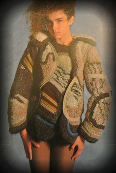 wearable crochet art