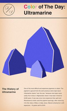 The history of Ultramarine! #color