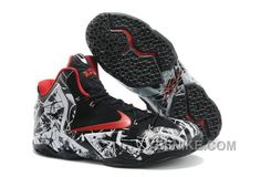 """new product ad73c 47f74 Find Nike LeBron 11 """"Graffiti"""" White University Red-Black Authentic online  or in Footlocker. Shop Top Brands and the latest styles Nike LeBron 11  """"Graffiti"""" ..."""