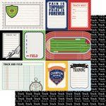 Scrapbook Customs  Sports Pride Collection  12 x 12 Double Sided Paper  Track and Field  Journal >>> See this great product.Note:It is affiliate link to Amazon.