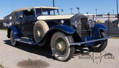1930 Rolls-Royce Phantom 1 Imperial False Cabriolet by Hibbard & Darrin Rolls Royce Black, Classic Rolls Royce, Rolls Royce Cars, Rolls Royce Phantom, Formula 1, Subaru, Cadillac, Dodge Sedan, Toyota