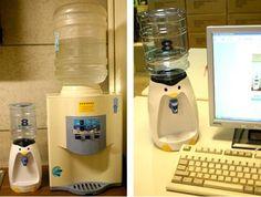 Mini water dispenser design