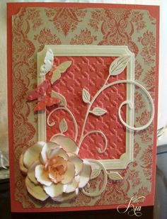 Rose card by kiagc - Cards and Paper Crafts at Splitcoaststampers