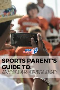 A sports parent's guide to avoiding overload Parenting Classes, Parenting Hacks, Father And Son, Athlete, Football Moms, Parents, Dads, Teaching, Baseball Cards