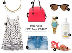 Spring Travel Packing: For the BEACH | Rue