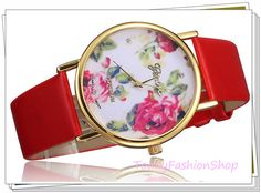 Hotwomen watchfemale watchRed rose gold box by TodayFashionShop, $15.00