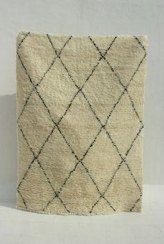 Marokkanischer Teppich von Gypsya - Criss Cross in 4 x 6