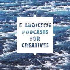 Here are 5 addictive podcasts for creatives feat. Being Boss, Being Freelance, The Jealous Curator, Design Life & The Minimalists // Found Some Paper Blog