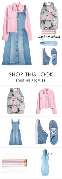 """Back To School"" by shoaleh-nia ❤ liked on Polyvore featuring ban.do, H&M, STELLA McCARTNEY and Avon"