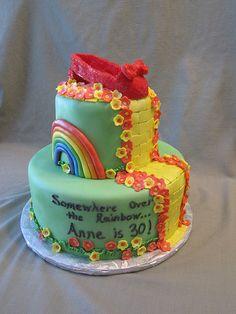 wizard of oz theme cakes | Wizard of Oz Birthday Cake