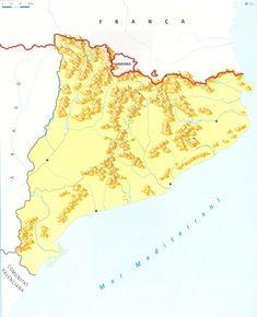 Mapa Fisic Catalunya Mut.10 Best Catalunya Images Catalan Independence Map