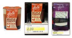 Glade Candle and Oil Diffuser Starter Kit—Only $0.99 at Target and $1.25 at Walmart!