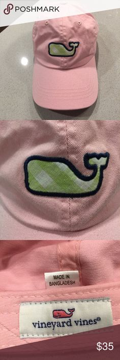 Excellent Used Condition Vineyard Vines Pink/Green Pink and Green hat by Vineyard Vines. So preppy! Perfect for a vacation! 😃👌🏼 Vineyard Vines Accessories Hats