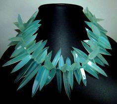 Aqua Chalzedon facettierten Perlen Lady finger Form Größe-46x7.5, 21x6.5.mm ca. 100 % natürliche Top Qualität Großhandel Preis neu eingetroffen.