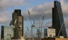 The amount of new office space being built in central London was up by 24%, the second-biggest increase in 20 years.