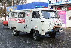 Ambulance in Астана / Astana nel Kazakhstan