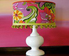 I love this lamp shade.