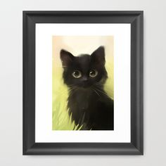 Buy Savage Cat by Rihards Donskis as a high quality Framed Art Print. Worldwide shipping available at Society6.com. Just one of millions of products…