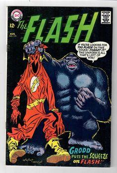 FLASH #172 – Grade 7.0 – Battles Gorilla Grodd!  http://cgi.ebay.com/ws/eBayISAPI.dll?ViewItem&item=291838301387&roken=cUgayN&soutkn=jcD5vN