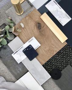 Mood Board Interior, Interior Design Boards, Palette Deco, Deco Cool, Material Board, Display Homes, Colour Board, Color Pallets, Colour Schemes