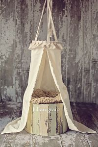 beautiful natural muslin and lace newborn canopy inspired by son kissed photographyto be used as a photography prop only
