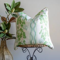 Madison Pillow Cover - 18x18 / Knife Edge / Single-Sided
