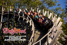 Thunderhead is an amazing wooden roller coaster at Dollywood